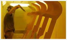 Downs Powdercoating - quality process
